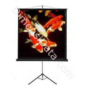 Jual Screen Projector BRITE Tripod 70  Inch [TRI-1818]
